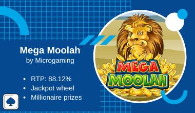 Mega Moolah online slot updated